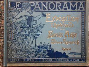 LE PANORAMA - Exposition Universelle 1900 - Beaux Arts & Musées rétrospectifs