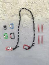 1/6 Action Figure Toy MSE ZERT Black Jack Sniper Rope Carabiner Lights Set 40