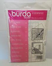 BURDA sarte tessuto carta da ricalco Modelli di Cucito Ricamo Craft APPLIQUE