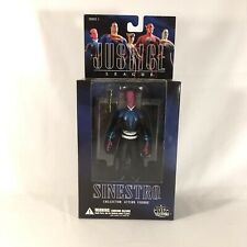 "Dc Direct JUSTICE LEAGUE 6"" SINESTRO FIGURE W STAND Alex Ross Rare Collector Usa"