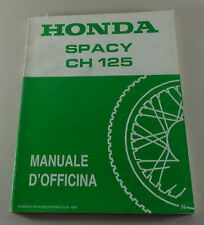 Manuale di officina Honda Spacy CH125 von 1992