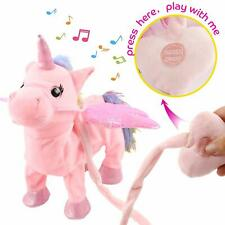 Electric Walking Unicorn Plush Toy Electronic Music Unicorn Toy for Children