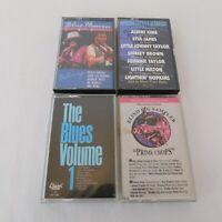Lot of 4 Blues Music Cassettes Blind Pig Sampler Heaven Original Classics Volume