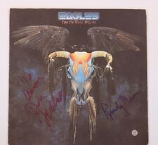GFA Eagles * DON FELDER & RANDY MEISNER * Signed Vinyl Record Album AD2 COA