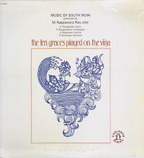 LP INDIA RAO NAGESWARA TEN GRACES PLAYED ON THE VINA NONESUCH
