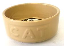 Ceramic Cat Bowl Embossed Mason Cash Traditional CAT Lettered Bowl 13cm x 4cm
