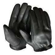 CHURCHILL DEERSKIN XL BLACK LEATHER GLOVES SEEN ON SONS OF ANARCHY U.S.A. MADE