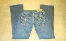 TRUE RELIGION Women's Twisted Seam Flare Jeans Size 25