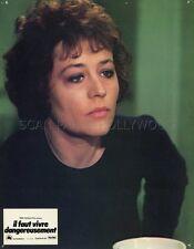 ANNIE GIRARDOT IL FAUT VIVRE DANGEREUSEMENT 1975 PHOTO D'EXPLOITATION #1