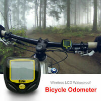 1pcs Etanche Sans Fil LCD Digital Compteur Vitesse de Odomètre Ordinateur Vélo