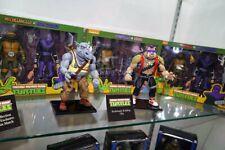 NECA 7'' Scale Teenage Mutant Ninja Turtles Rocksteady&Bebop 2PCS Action Figure