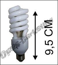 5 X LAMPADA LAMPADINA A RISPARMIO ENERGETICO 20 WATT E14 E27 LUCE CALDA O FREDDA