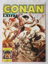 VERY RARE VINTAGE 80'S CONAN EXTRA VOL 1 FIRST ISSUE GREEK COMIC GREECE NOS !