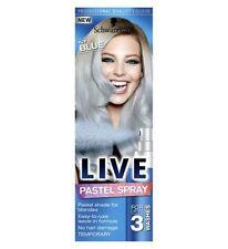 2x Schwarzkopf Live Pastel Spray for Blondes MINT Green 125ml Each Upto 3 Washes