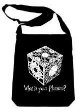 Hellraiser Puzzlebox on Black Sling Bag Pinhead Book Bag Clive Barker Horror