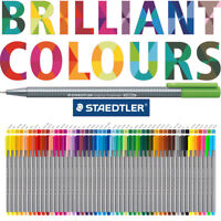 STAEDTLER TRIPLUS FINELINER - individual pens or boxes in 48 brilliant colours!