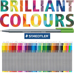 STAEDTLER Triplus Fineliner Pen -  Now Available in 60 Brilliant Colours!