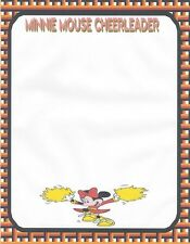 Minnie Mouse Cheerleader Stationery Printer Paper 26 Sheets