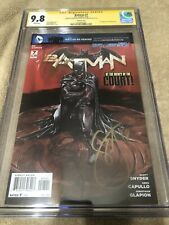 Batman 7 CGC 2X SS 9.8 Variant Cover Capullo Snyder 1st Harper Row 2012