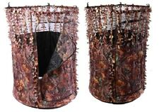 Predator 1 Pigeon Shooting Hide Camo Leaf Edge Pop Up Hide Decoying Decoys New