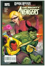 Mighty Avengers #23 VF/NM Marvel 2009 Vision & Hulk Cover Dark Reign