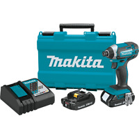 Makita XDT11R 18V LXT Li‑Ion Compact Cordless Impact Driver Kit - A-Grade