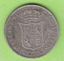 Spanien 40 Centimos de Escudo 1864 Madrid sehr schön Jahrgang selten nswleipzig