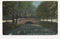 Glen Miller Park RICHMOND IN Vintage Indiana Postcard
