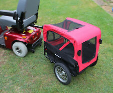 Mobility Scooter Medium Pet Rear Towing Trailer Tow Transport Attachment New