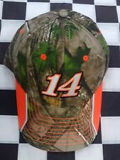 Tony Stewart #14 NASCAR Ball Cap Hat NEW Stewart-Haas RealTree Camo True Timber