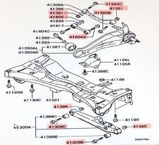 Rear Control Arm Bolt & Nut Outlander 2003 Genuine Mitsubishi Parts !