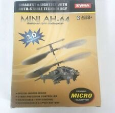 Syma AH-64 Mini R/C Helicopter Infrared Control Indoor 3 Channel Controller