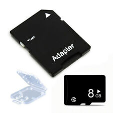 8GB Class 10 Micro SD Flash Memory Card Adapter Plastic Case for Phone Tablet TF