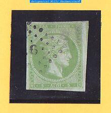 Alt Griechenland-Königreich-Hermeskopf-5 Lepta-1861-olivgrün-wohl Mi.11Ib-gebr.