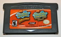 SPONGEBOB SQUAREPANTS:SUPERSPONGE/REVENGE OF THE FLYING DUTCHMAN GAMEBOY ADVANCE