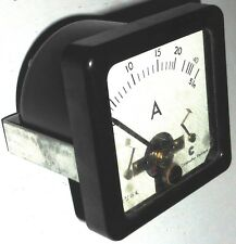 Ampèremètre AC/DC thermocouple ou 0-40A NOS NIB Cie de Construction Electrique
