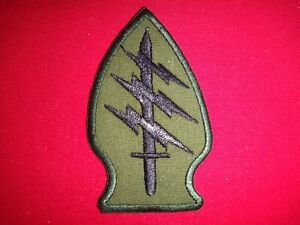 US Army SPECIAL FORCES Vietnam War Subdued Patch