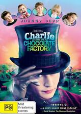 CHARLIE and THE CHOCOLATE FACTORY : NEW DVD