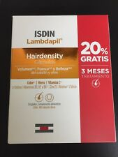 ISDIN LAMBDAPIL  HAIRDENSITY 180 caps TREATMENT FOR 3 MONTHS EXP.DATE 06/2020