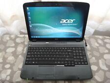 "Acer Aspire 5735 15.6"" Intel Core 2Duo 2.2GHz 3GB Ram 80GB HDD Win7 Cámara Web Laptop"