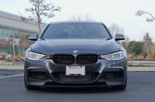 BMW F30 F31 M performance style Front bumper spoiler  M Tech LIP splitter chin