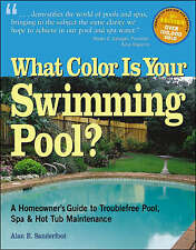 Very Good 1580173098 Paperback What Colour is Your Swimming Pool? Sanderfoot, Al