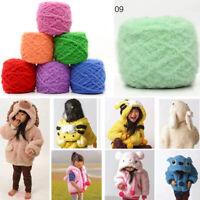 100g Soft Plush Fluffy Wool Yarn Hand Knitting Coral Cashmere Velvet Thread Yarn