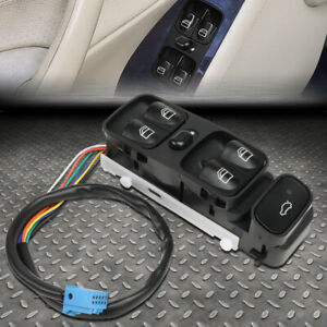 FOR 01-07 MERCEDES-BENZ C-CLASS DRIVER SIDE MASTER POWER WINDOW CONTROL SWITCH