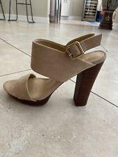 Tan/beige/brown Heels Sandals
