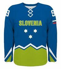 NEW 2019 Team Slovenia Hockey Jersey NHL Anze Kopitar Mursak Rodman Ticar