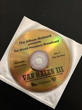 "VAN HALEN ""The Album Network presents The World Premiere Broadcast"" 2 cd Rare"