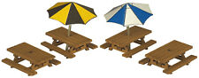 N Scale Picnic Tables - Metcalfe PN810 - F1