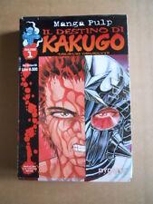 IL DESTINO DI KAKUGO vol.1 - Takayuki Yamaguchi Dynamic Manga   [G371C]