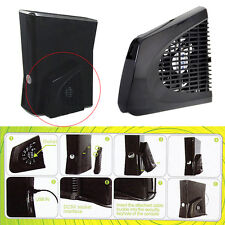 New USB UP Cooling Fan External Side Cooler designed for Xbox 360 Slim Black